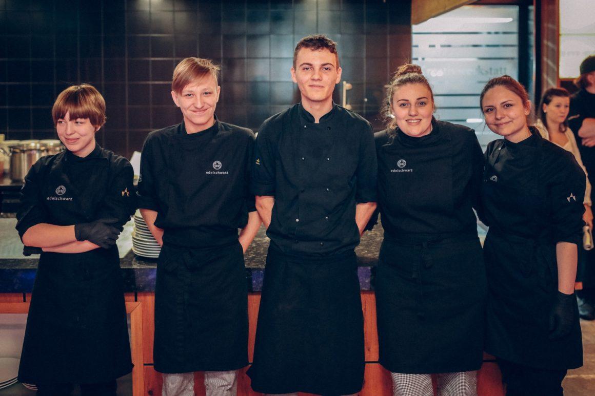 Unsere Küchenlehrlinge des Alpenresort Schwarz