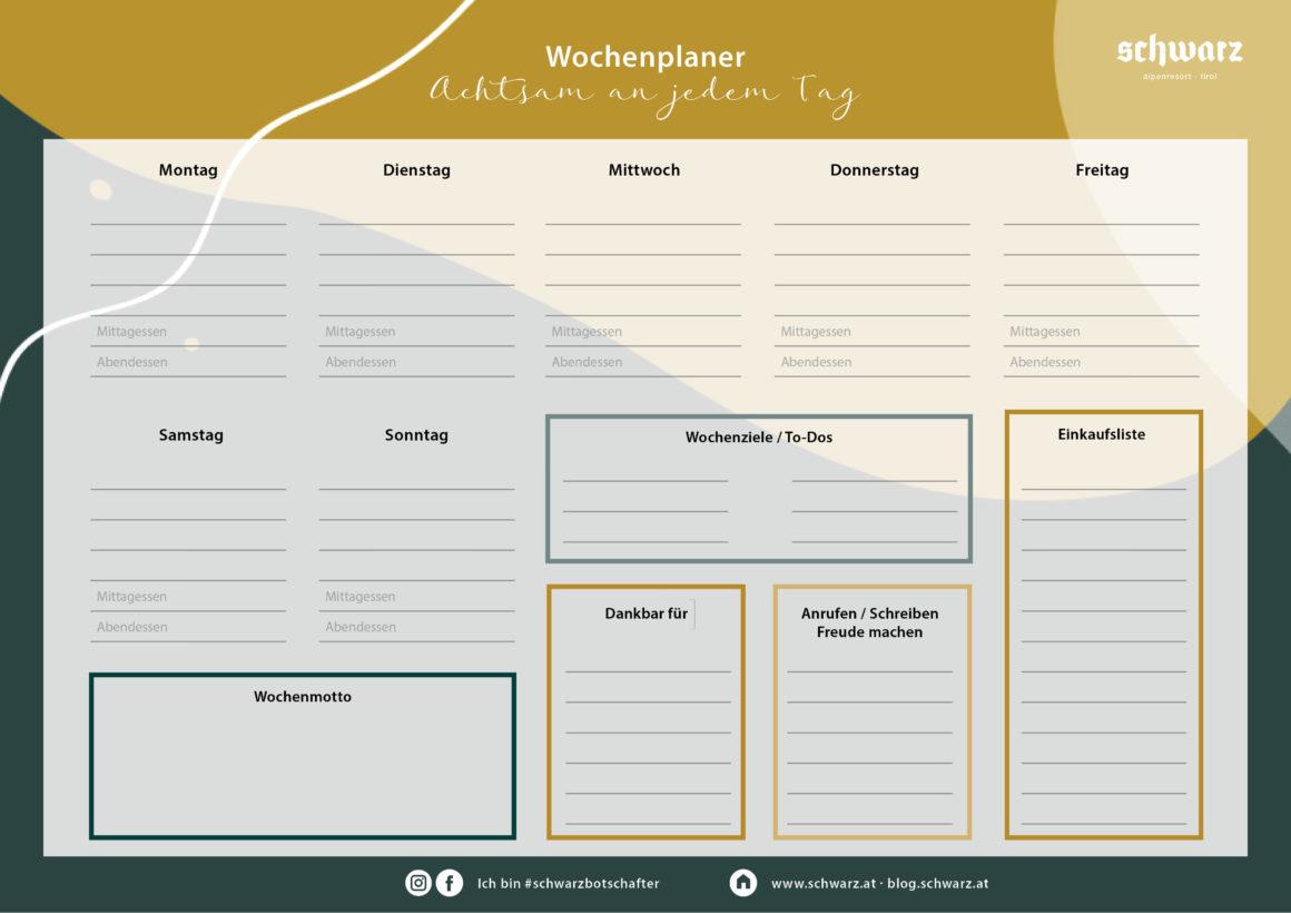 Alpenresort-Schwarz-Wochenplaner-V2