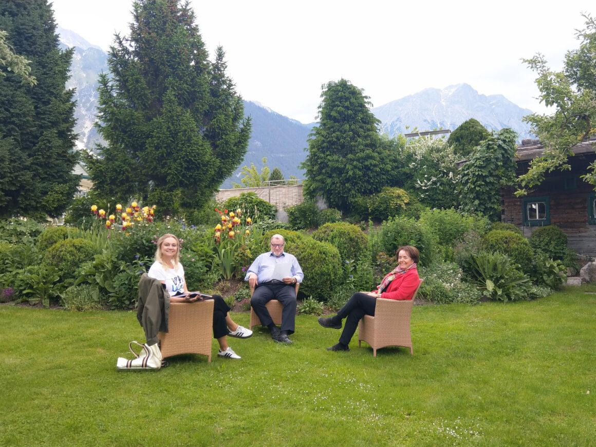 Isa im Talk mit Martha und Franz Pirktl
