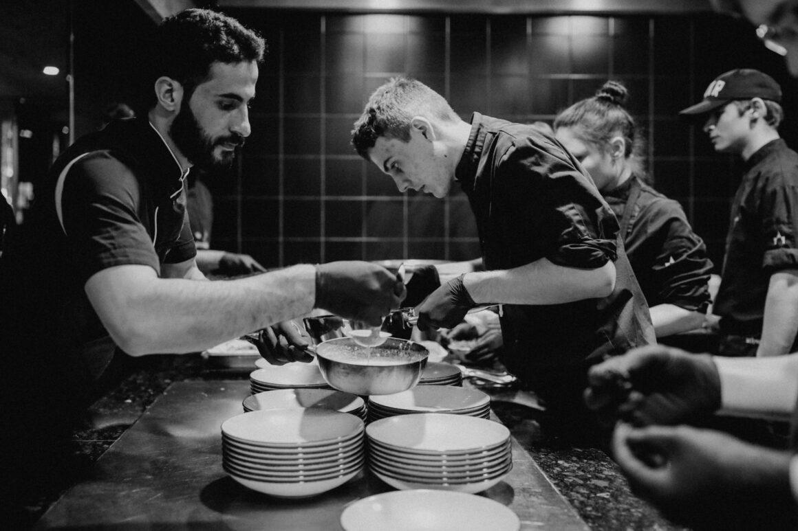 Lehrlinge vom Küchenteam - Lehre im Gastgewerbe