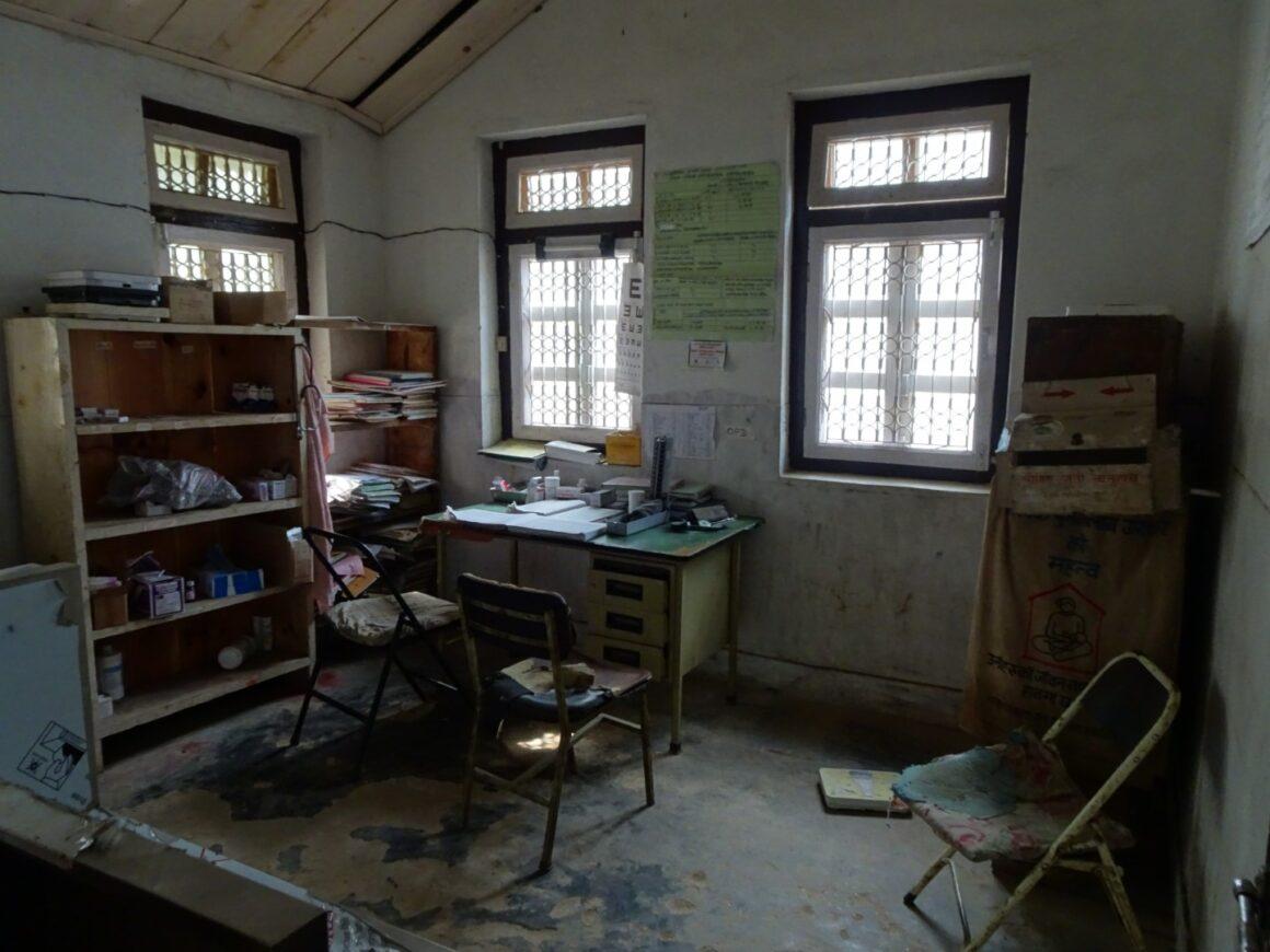 Das Arztzimmer in Gora Khani