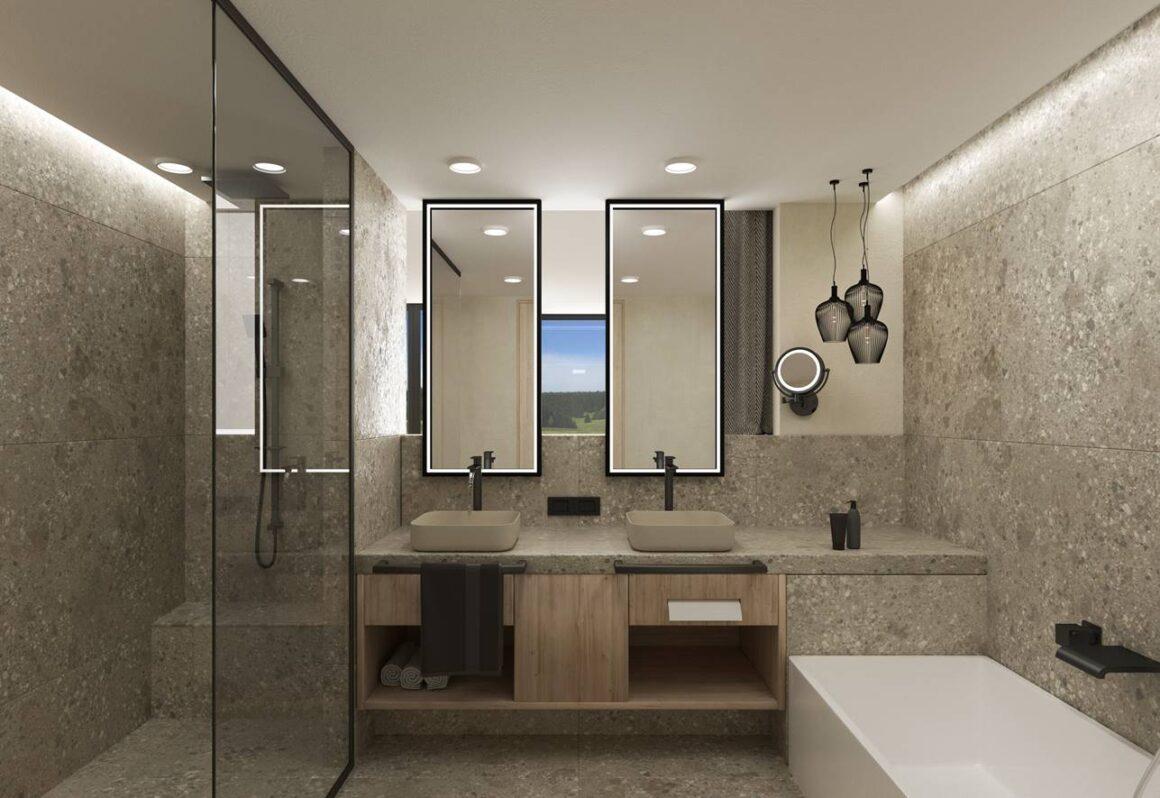 Das Badezimmer Freiraum