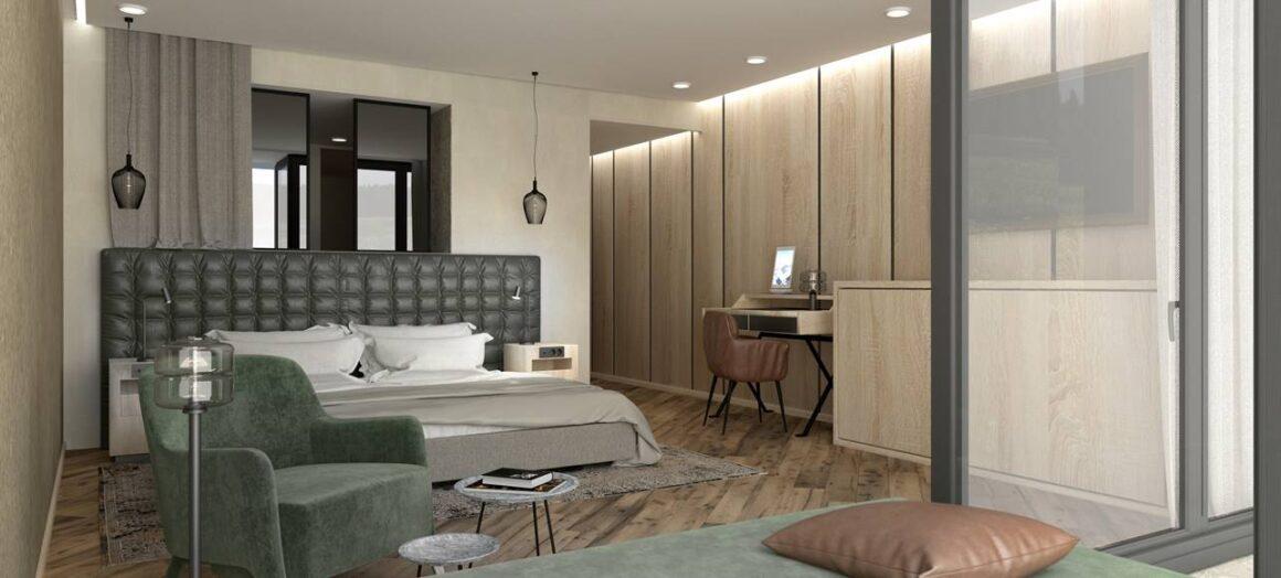 Ein Vorgeschmack auf die neuen Doppelzimmer Freiraum