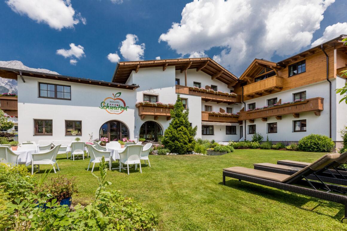 Das Biohotel Schweitzer in Mieming in Tirol