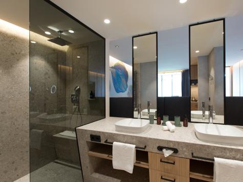 Ein Badezimmer zum Träumen.